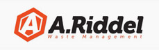 A.Riddel Waste Management Logo